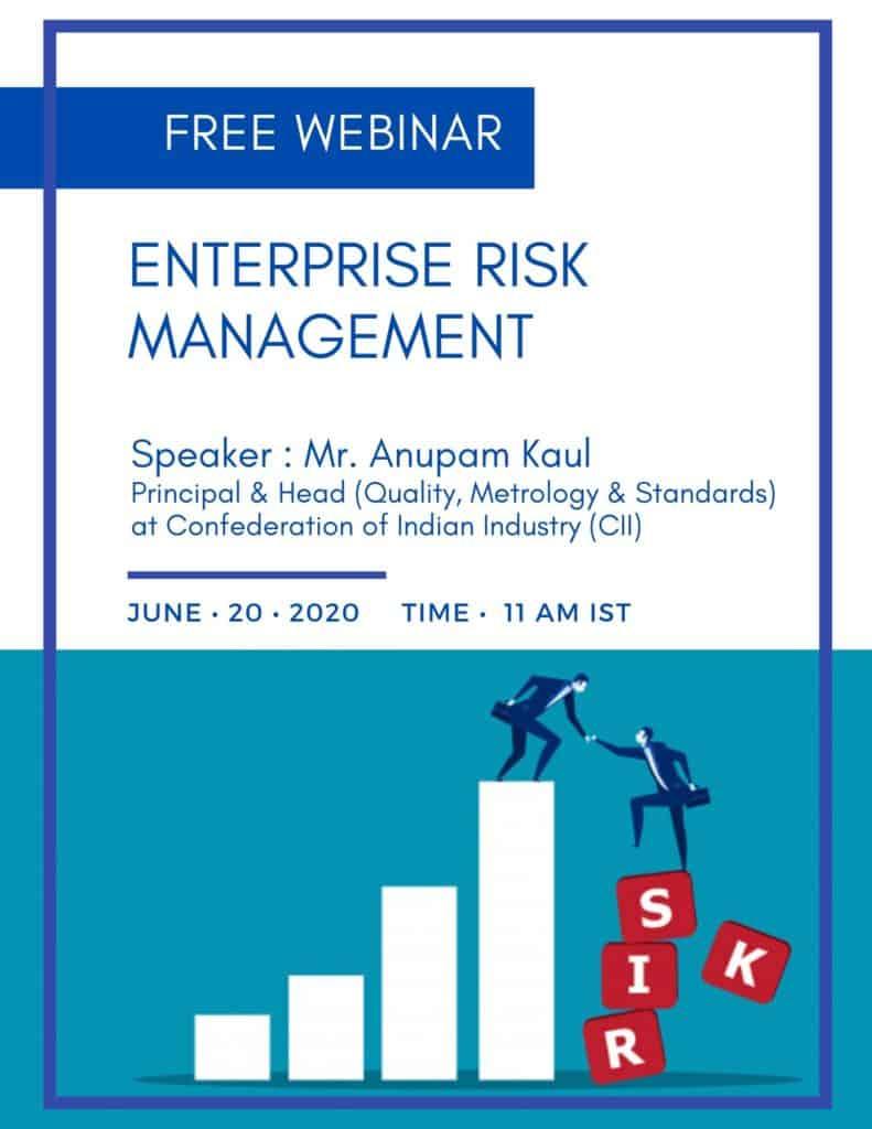 Webinar on Enterprise Risk Management